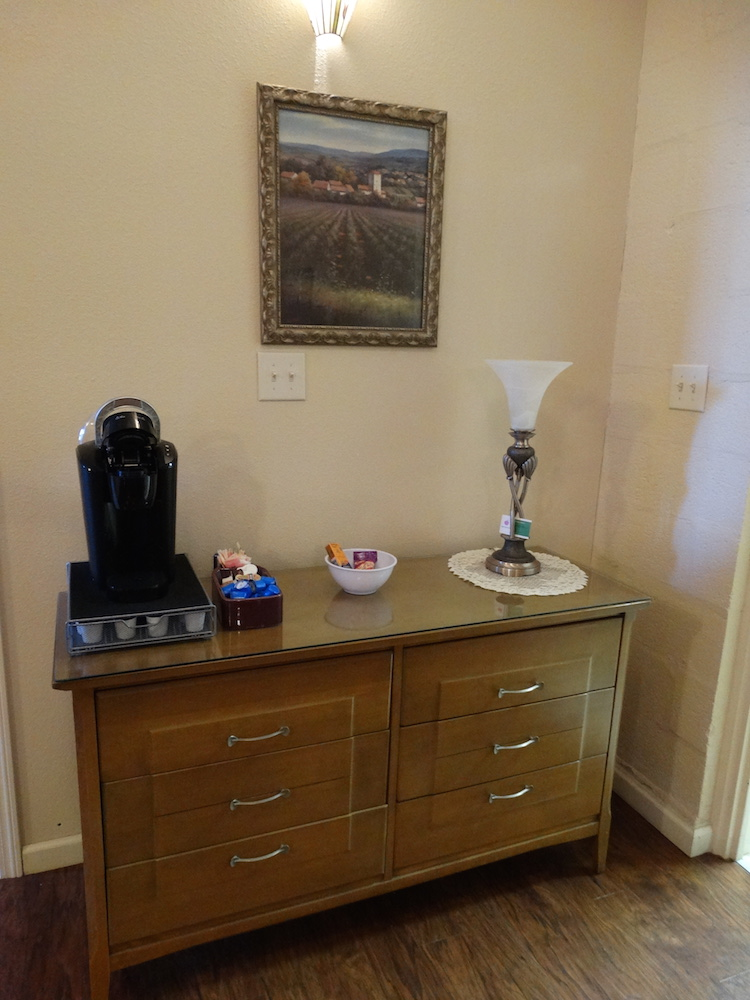 Purple Suite Coffee Station